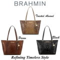 Brahmin Medium Asher Melbourne Tote-Available In Three Colors