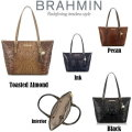 Brahmin Medium Asher Melbourne Tote - Available in 4 Colors