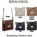 Brahmin Melbourne Mimosa Crossbody Bag - Available In Your Choice Of Five Colors