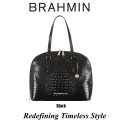 Brahmin Cora Melbourne Business Tote - Available In Pecan or Black