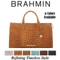 Brahmin Melbourne Anywhere Weekender – Available in Your Choice Of 6 Colors