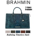 Brahmin Melbourne Anywhere Weekender � Available in Your Choice Of 5 Colors