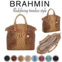 Brahmin Melbourne Large Duxbury Satchel - Available in Eight Colors