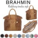 Brahmin Melbourne Large Duxbury Satchel - Available in Nine Colors