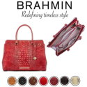Brahmin Melbourne Finley Carryall Satchel � Available in Seven Colors