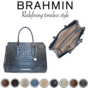 Brahmin Melbourne Finley Carryall Satchel – Available in Nine Colors