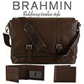 Brahmin Mason Manchester Messenger & Bifold Manchester Wallet