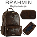 Brahmin Marcus Vintage Melbourne Backpack & Dylan Vintage Melbourne Toiletry Case