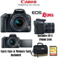 Canon EOS Rebel SL2 DSLR Camera with 18-55mm IS STM Lens Kit with 128GB Memory Card and Camera Case