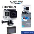 GoPro HERO4 Silver Waterproof Camera 12MP with Touch Display with Built in Wi-Fi and Bluetooth