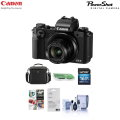 Canon Powershot G5 X Digital Camera with Free PC Accessories Kit