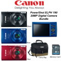 Canon PowerShot ELPH 190 20 Megapixel Digital Camera- Available In Blue, Red Or Black