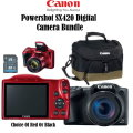 Canon PowerShot SX420 Digital Camera Bundle w/32GB SD Card & Camera Bag