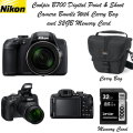 Nikon Coolpix B700 Digital Point & Shoot Camera Bundle With Carry Bag & 32GB Memory Card