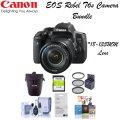 Canon EOS Rebel T6s Camera Bundle w/EF-S 18-135mm f/3.5-5.6 STM Lens