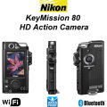 New Nikon KeyMission 80 HD Waterproof Action Camera With Image Stabilization Feature