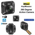 New Nikon KeyMission 360 Degree Action Camera With Wifi & Bluetooth Connectivity