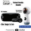 Samsung Gear 2017 Edition Virtual Reality Bundle: Includes 360 4K VR Camera and VR Goggles
