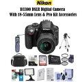 Nikon D3300 DSLR With 18-55mm Lens & Pro Kit