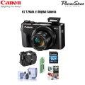 Canon Powershot G7 X Mark II Digital Camera And Pro Accessory Kit