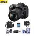 Nikon D7500 DSLR with 16-80mm VR Lens with Free Accessory Bundle
