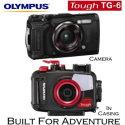 Olympus Tough TG-6 12mp Waterproof Digital Camera with Olympus PT-059 Underwater Housing