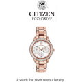 Citizen Eco-Drive  Silhouette Crystal Women's Watch