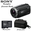 Sony Handycam Camcorder Bundle-Includes Carry Case and Memory Card