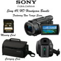 Sony 4K HD Handycam Bundle- Includes Carrying Case & 16GB Memory Card