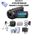 Sony 4K Ultra HD Handycam Camcorder With Free 6PC Accessory Bundle