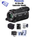 Panasonic 4K Ultra HD Handycam Camcorder with Free 5PC Accessory Bundle