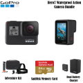 GoPro Hero7 Action Camera Bundle with Adventure Kit, SanDisk Memory Card & Dual Battery Charger
