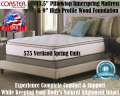"Marbella Pillowtop 13"" Kg Mattress+Foundation Featuring Comfort, Support & Ultimate In Relaxation"