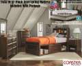 "We�ve Included A 10.5"" Plush Tw Mattress W/This Bedrm Pkg Featuring Storage Bed W/Bookcase Headboard"