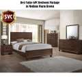 Best Value 6PC Bedroom Pkg in Medium Brown Featuring English Dovetails & Drawer Glides