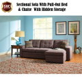 Great Style & Function Combines w/Exceptional Value Featuring Charcoal Chenille Sectional Sofa
