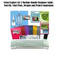 Cricut Explore Air2 Machine Beginner Guide, Tool Kit, Vinyl Pack, Designs & Project Inspiration