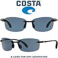 Costa Unisex Ballast Shiny Polarized Sunglasses