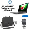"Dell Inspiron 15.6"" 8GB AMD A-Series 7th Gen Touchscreen LCD Notebook, Wireless Mouse & Case"