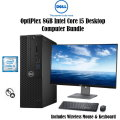 "Dell OptiPlex 8GB Intel Core i5 Desktop Computer With 24"" Monitor, Wireless Keyboard & Mouse"