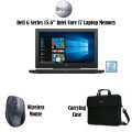 """Dell G Series 15.6"""" Intel Core i7 Laptop Bundle with Wireless Mouse & Carrying Case"""
