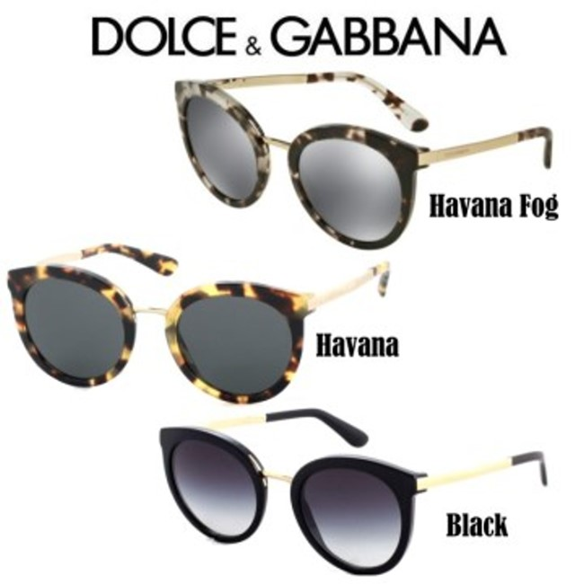 5f0070d380ff Dolce   Gabbana DNA Cube Women s Round Frame Sunglasses - Available ...