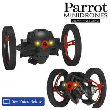 Parrot Jumping Sumo Bluetooth Robot Insect Mini Drone W/Live Video Streaming To SmartPhone Or Tablet