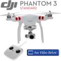 DJI Phantom 3 Standard Quadcopter Aircraft With Automatic Flight Assistant, Live GPS And Auto Hover