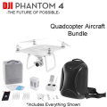 DJI Phantom 4 Quadcopter Aircraft Bundle with Spare Battery & Backpack
