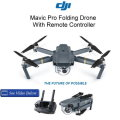 DJI Mavic Pro Folding Drone With Remote Controller Available In Gray