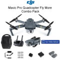 DJI Mavic Pro Quadcopter Fly More Combo Pack Featuring Obstacle Avoidance Technology
