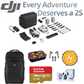 DJI Air 2S 4K Drone Fly More Combo with Backpack, Strobe Light & Accessories
