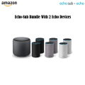 Echo Stereo Pair With Echo Sub (2nd Gen) - Available In 3 Colors