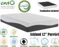 "Ashland 12"" PureGel Full Mattress Plus Foundation; Support & Comfort On Every Level"